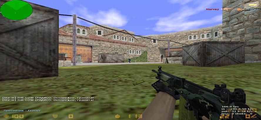 Оружие в КС 1.6 от The Low
